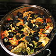 Paella at Chris and Christy's