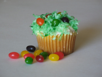 Easter cupcakes for the kids