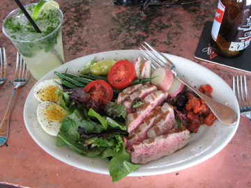 Grilled Tuna Salad from Bud & Alley's
